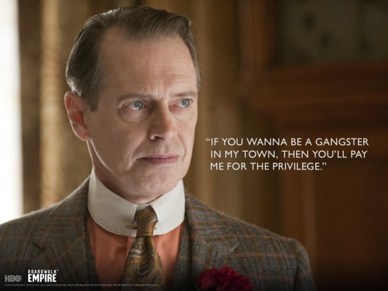 Boardwalk Empire&#039;s Steve Buscemi as Nucky Thompson