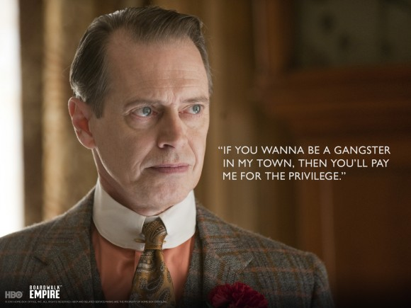 Boardwalk Empire's Steve Buscemi as Nucky Thompson