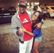 Bobby Brown & Bobbi Kristina Brown