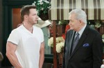 Brady seeks Victor's help to find Kristen on the April 16, 2015 episode of 'Days of Our Lives'