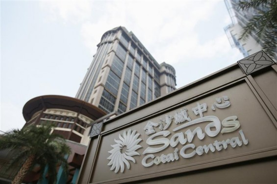 The Sands Cotai Central logo