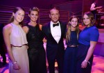 Tim MCGraw and Faith Hill with their daughters Gracie, Audrey and Maggie