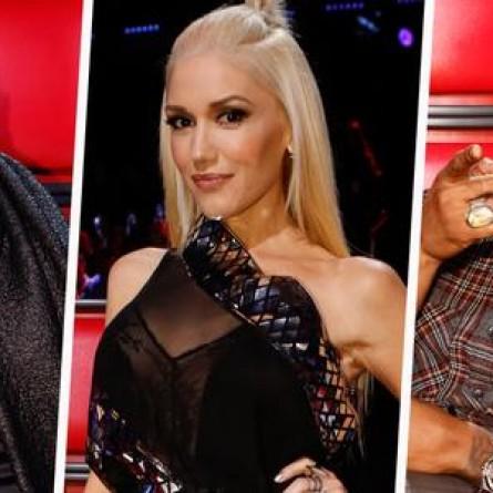CeeLo Green, Gwen Stefani & Usher