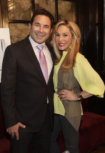 Adrienne Maloof and estranged husband Dr. Paul Nassif