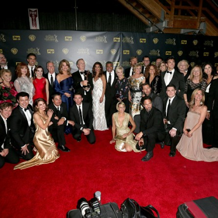 The cast of 'Days of Our Lives' posing at the 42nd Annual Daytime Emmy Awards