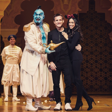 Genie, Rob Dyrdek & Bryiana Noelle Flores