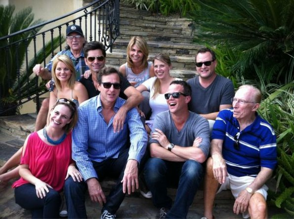 "The cast of ""Full House"" reunited for the 25th anniversary of the show"
