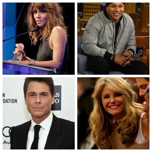 Halle Berry, LL Cool J, Rob Lowe and Christi Brinkley