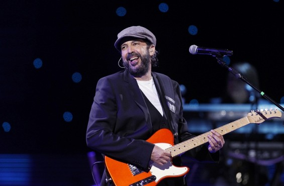 Dominican singer Juan Luis Guerra performs during the International Song Festival in Vina del Mar city, about 121 km (75 miles) northwest of Santiago February 27, 2012.