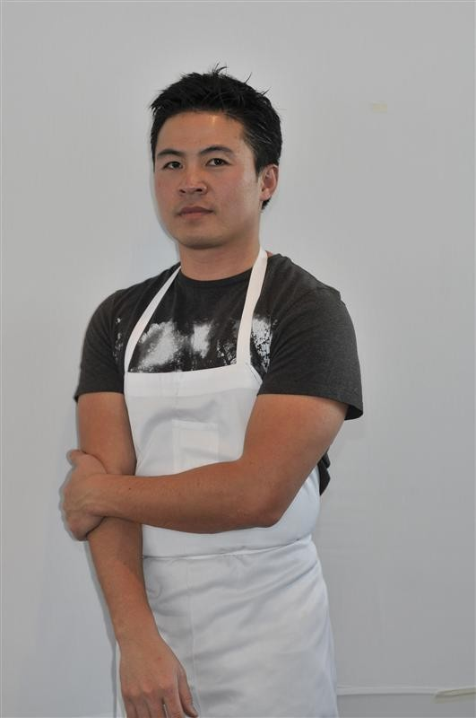 American chef Viet Pham posed in his restaurant Forage in an undated handout photo.