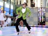 "Korean rapper-singer Psy performs on NBC's ""Today"" show in New York in this September 14, 2012 file photograph. A pop star whose song ""Gangnam Style"" became the first Korean hit to top Apple's music d"