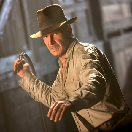 Harrison Ford as 'Indiana Jones'