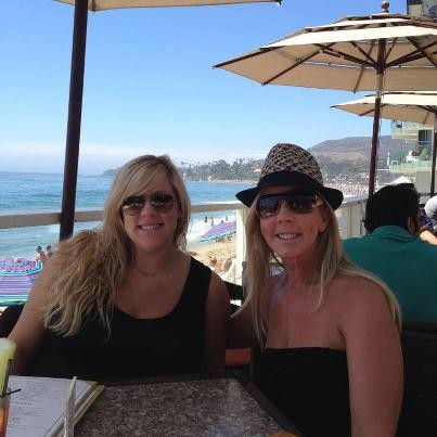 Vicki Gunvalson and her daughter Briana Culberson