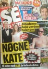 Danish tabloid Se Og Hor Magazine published Kate Middleton's bottomless pictures this week, according to reports.