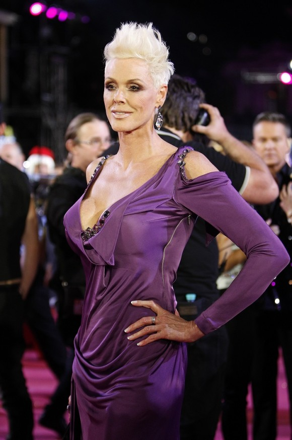 Danish actress Brigitte Nielsen poses during the opening ceremony of the 20th Life Ball in Vienna May 19, 2012. Life Ball is Europe's largest annual AIDS charity event and takes place in Vienna's City