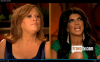 Caroline Manzo (left) and Teresa Giudice (right)