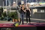 'Amazing Race' Season 26 winners Tyler & Laura with Phil Keoghan