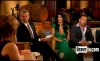 Andy Cohen (left), Teresa Giudice (middle) and her husband Joe Giudice