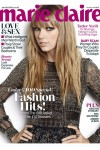 Taylor Swift on the cover of U.K. Marie Claire November issue.