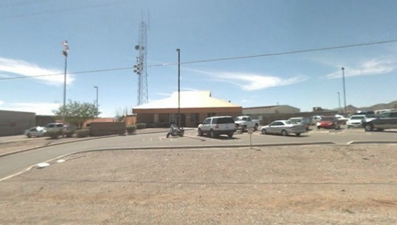 Brian Terry U.S. Border Patrol Station located at 2136 South Naco Highway in Bisbee, Arizona. 