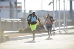 Jenny and Jelani race to the finish line on the 'Amazing Race' 26 finale