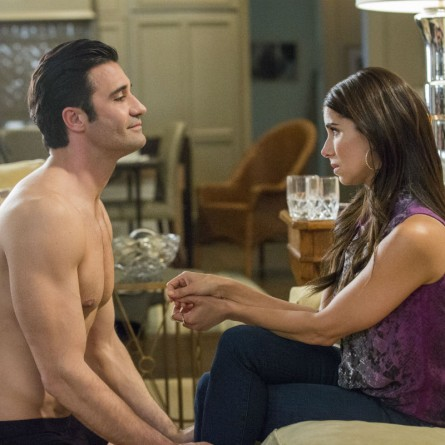 Carmen learns that Sebastien may have less than honorable intentions with her on season 3 of 'Devious Maids'