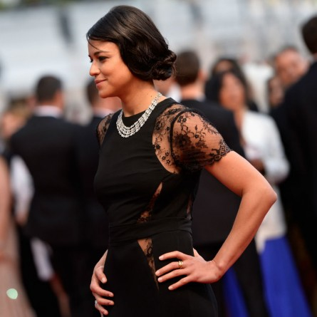 Michelle Rodriguez  at Cannes