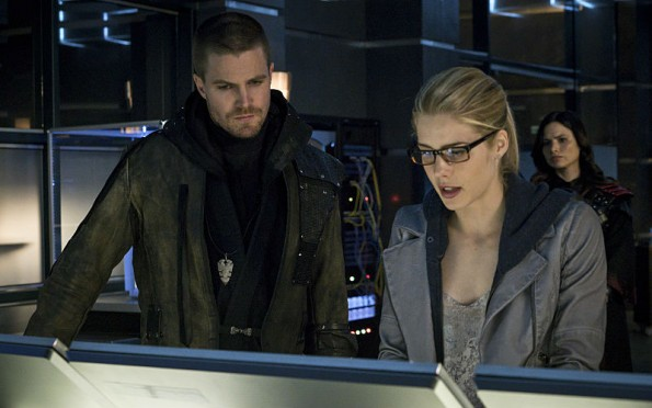 Oliver & Felicity on Arrow