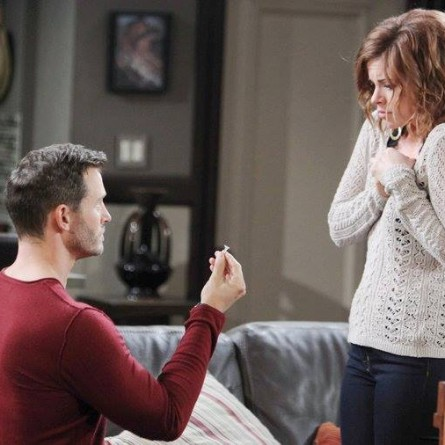 Melanie gives Brady an answer to his proposal on the May 26, 2015 episode of 'Days of Our Lives'