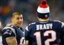 Aaron Hernandez & Tom Brady