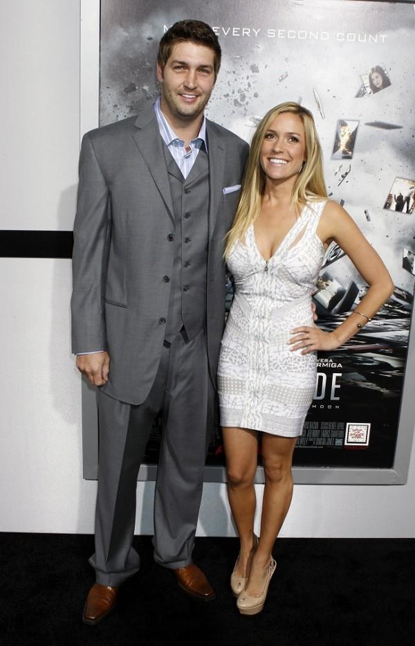 Kristin Cavallari and her fiance Chicago Bears  quarterback Jay Cutler    Lauren Conrad Fiance