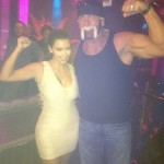 Kim Kardashian and Hulk Hogan