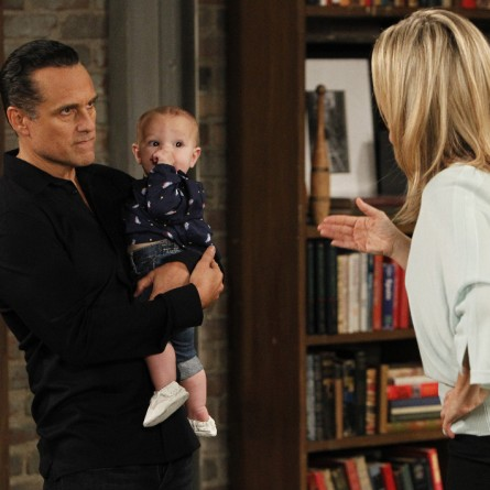 Sonny has an unexpected confrontation on the May 28, 2015 episode of 'General Hospital'