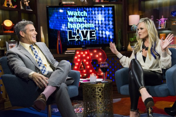 Andy Cohen & Tamra Barney