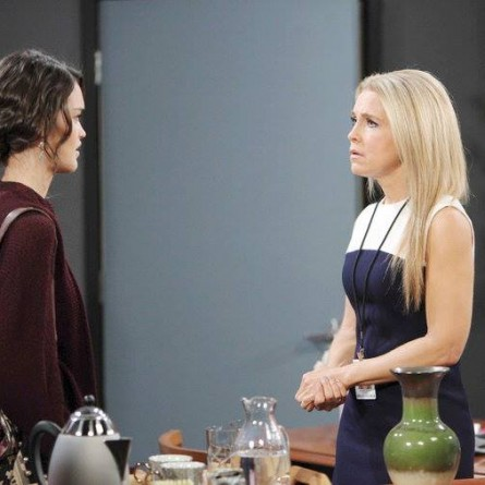 Paige lashes out at Jennifer for her deception on the May 29, 2015 episode of 'Days of Our Lives'