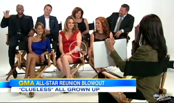 "The cast from the 1995 cult classic ""Clueless"" reunite on ""Good Morning America."""