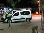 Israeli police cars
