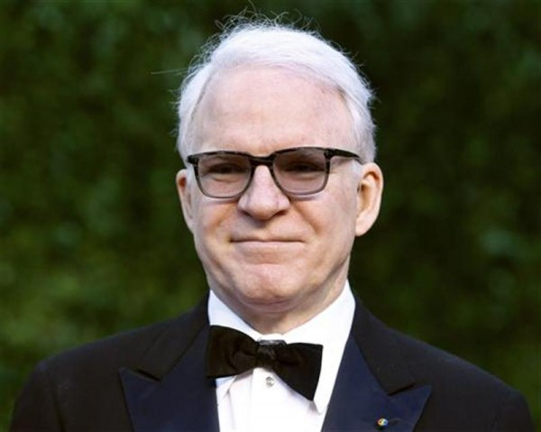 Comedian Steve Martin arrives at the 2011 Vanity Fair Oscar party in West Hollywood, California February 27, 2011.