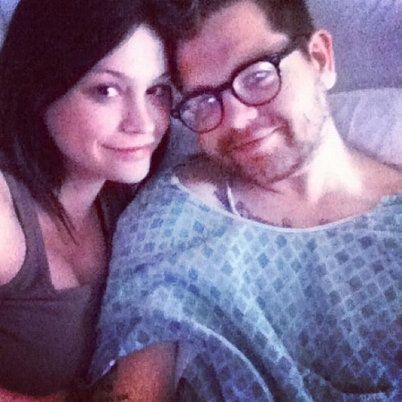 Jack Osbourne and his wife Lisa Stelly