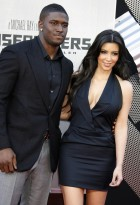 Reggie Bush and Kim Kardashian in 2009
