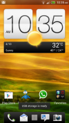 HTC One X with Android 4.1, Jelly Bean Update