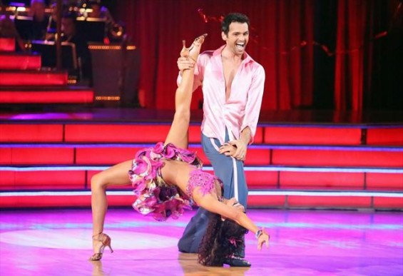 Melissa Rycroft and Tony Dovolani on Monday's 'Dancing With the Stars