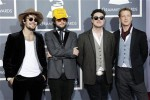 British rock band Mumford & Sons arrives at the 53rd annual Grammy Awards in Los Angeles, California February 13, 2011.