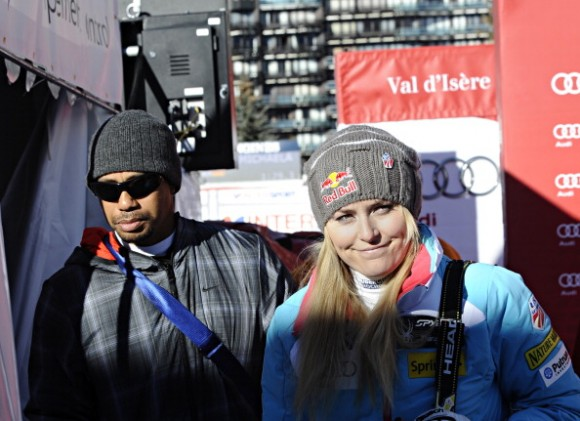Tiger Woods  Lindsey Vonn News  Skier Stays Strong After Break-Up  But    Lindsey Vonn Tiger Woods Yacht