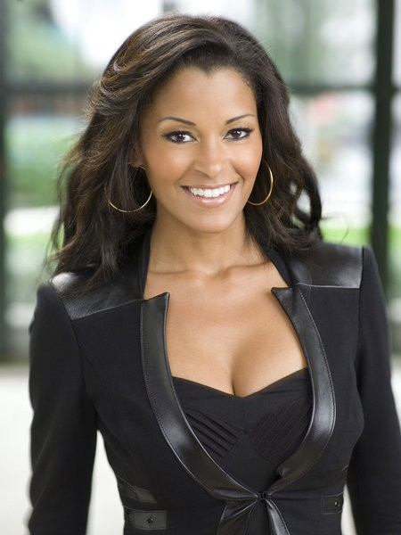 The Celebrity Apprentice- Pictured: Claudia Jordan