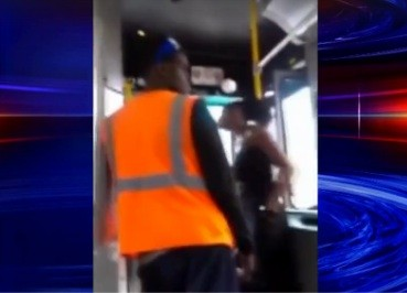 Bus Driver Uppercuts Girl