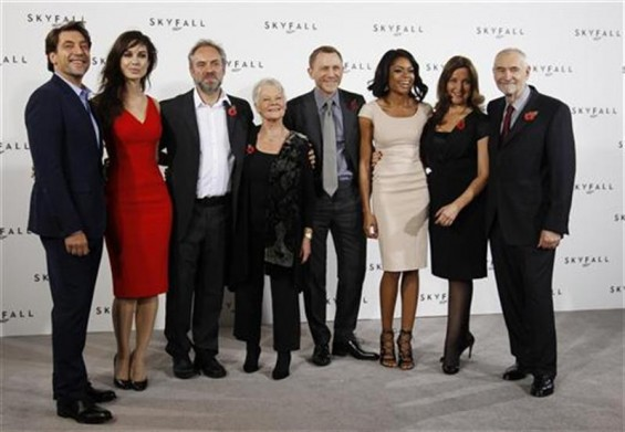 Skyfall Cast