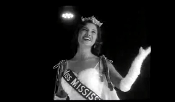 Mary Ann Mobley when she won Miss America in 1959.