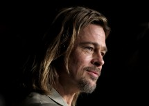 "Cast member Brad Pitt attends a news conference for the film ""Killing Them Softly"", in competition at the 65th Cannes Film Festival May 22, 2012."