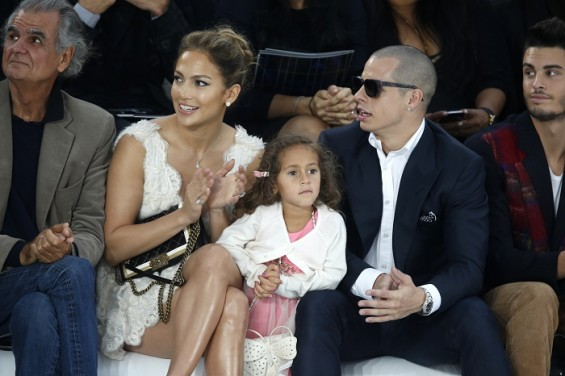 Jennifer Lopez and her daughter Emme